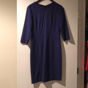 Boss Hugo Boss Dress. Purple. Size 4. 3/4 Sleeve
